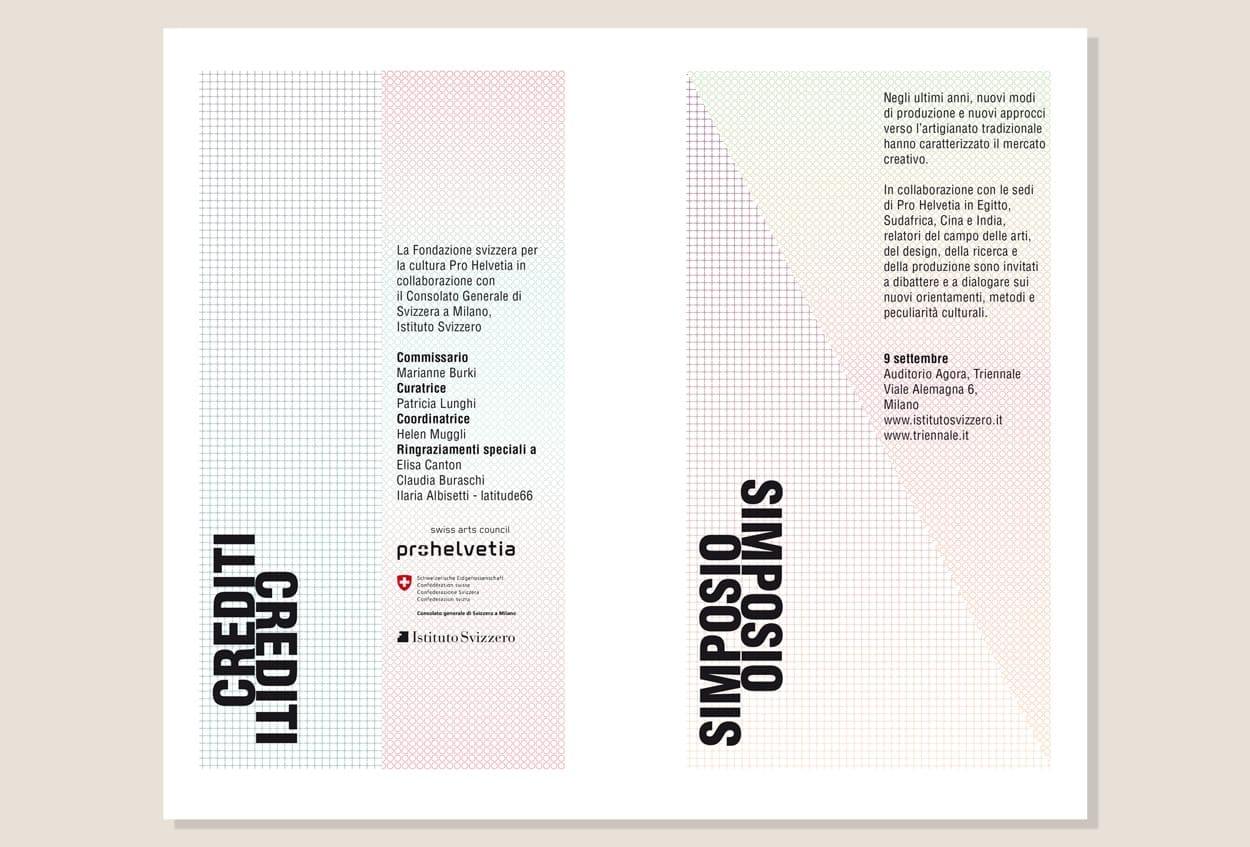 Pro Helvetia, Triennale di Milano