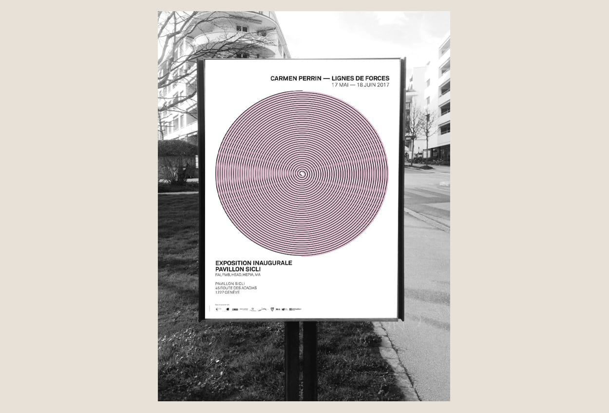 MAISON DE L'ARCHITECTURE Genève, carmen perrin, swiss poster
