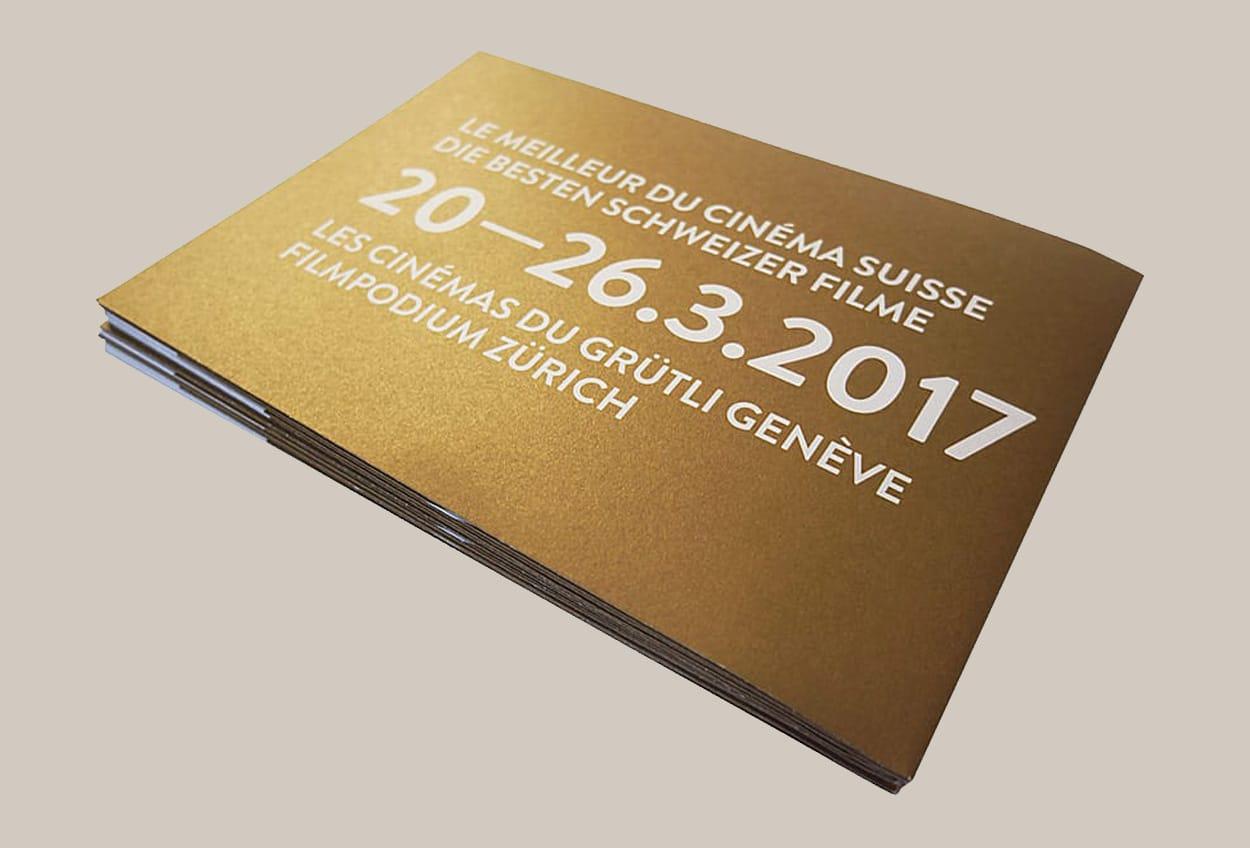 Prix du Cinéma Suisse 2017. Schweizer Filmpreis 2017