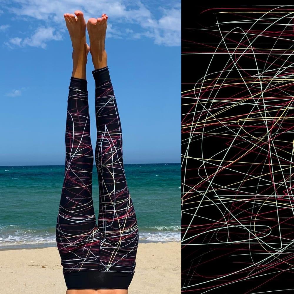leggings fait en suisse , swiss made leggings, graphic leggings