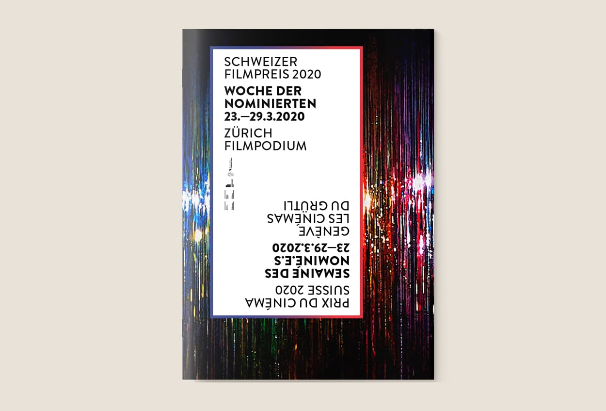 Prix du Cinéma Suisse 2020. Schweizer Filmpreis 2020