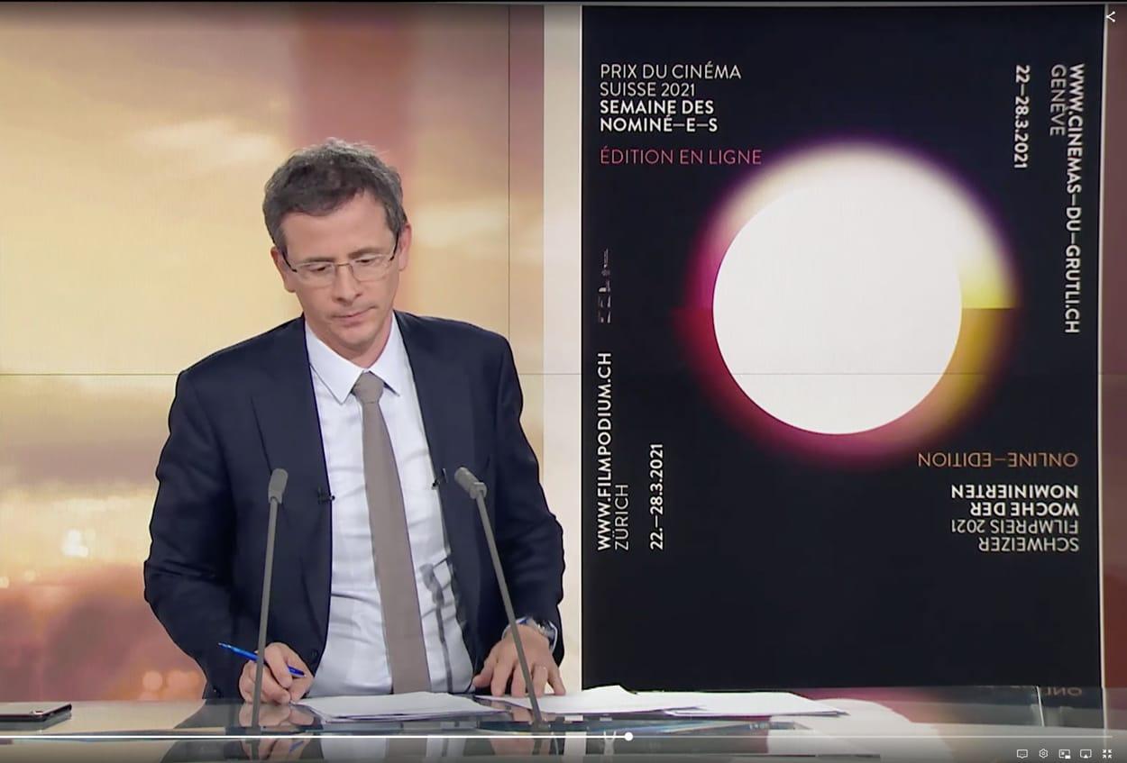 Prix du Cinéma Suisse 2021. semaine des nominés, Schweizer Filmpreis 2021, woche der nominierten, rts info